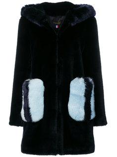 пальто с контрастными карманами La Seine & Moi