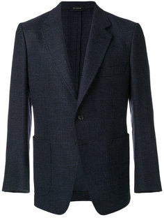 классический однобортный пиджак Tom Ford