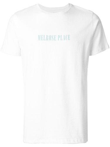 футболка с принтом 'Melrose Place' A.P.C.