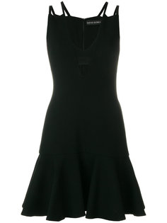 платье мини с вырезными деталями David Koma