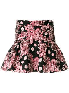 расклешенная жаккардовая юбка Giamba