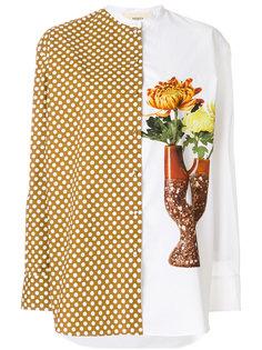 рубашка в горох с цветочным принтом Ports 1961