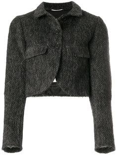 укороченный пиджак на пуговицах Rochas