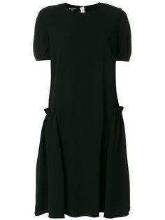 платье со сборками Rochas