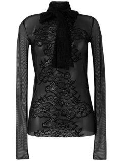 прозрачная блузка с бантом Faith Connexion