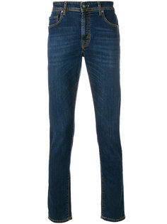джинсы кроя слим Hackett