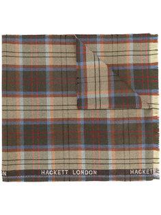 шарф в клетку Hackett
