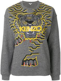 толстовка с тигром  Kenzo