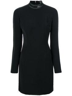 эластичное платье с длинными рукавами Versus