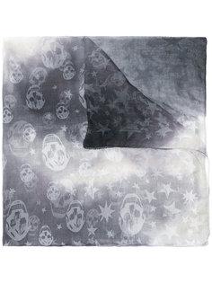 платок с принтом Alexander McQueen