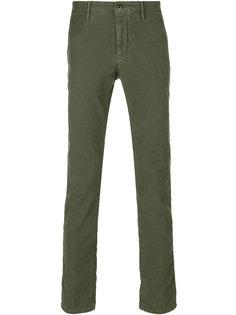 джинсовые брюки чинос Incotex