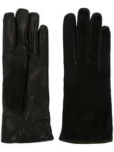 водительские перчатки с контрастной отделкой Lanvin