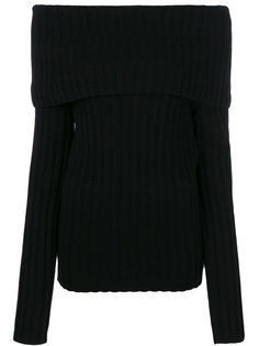 свитер с открытыми плечами  Theory