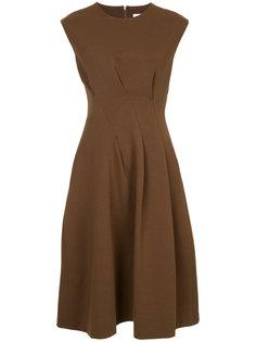 приталенное платье-миди Jil Sander