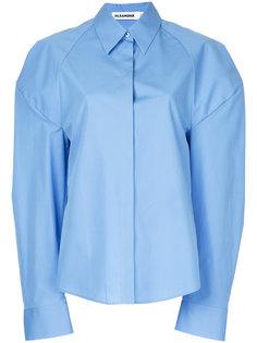 рубашка со спущенными рукавами Jil Sander