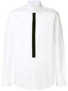 рубашка с контрастной планкой на пуговицах Low Brand