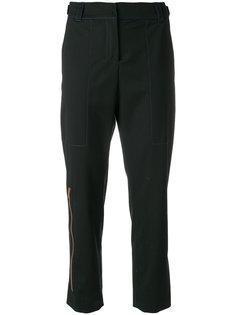 укороченные строгие брюки  Proenza Schouler