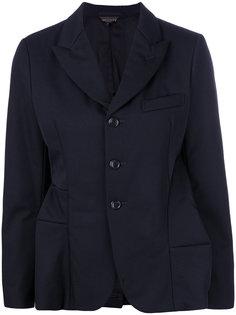 пиджак с панельным дизайном Comme Des Garçons