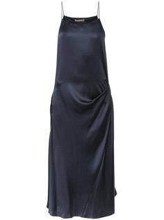 присборенное платье-комбинация  Nehera