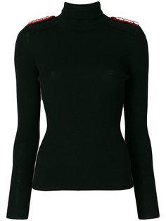 свитер с декором на плечах Tory Burch