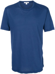 однотонная футболка James Perse