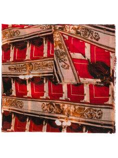 платок La Scala A Milano с принтом Faliero Sarti