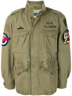 куртка в стиле милитари с аппликацией Polo Ralph Lauren