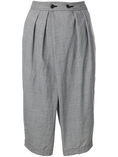 шорты свободного кроя с узором в ломаную клетку Comme Des Garçons Comme Des Garçons