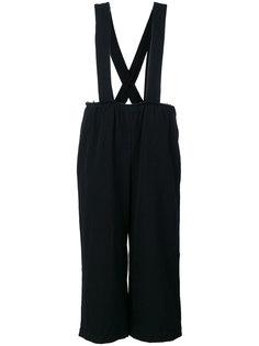 укороченные брюки на подтяжках Comme Des Garçons Comme Des Garçons
