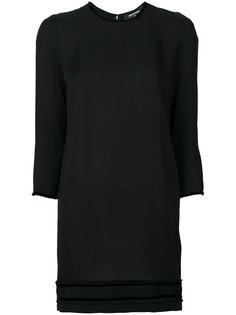 платье шифт с длинными рукавами  Dsquared2