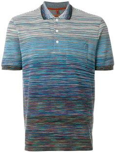 футболка-поло с полосатым узором Missoni