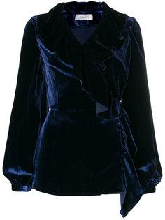 блузка с V-образным вырезом  Racil