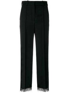 укороченные брюки с бисерной отделкой  Racil