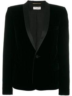 пиджак-смокинг с квадратными плечами Saint Laurent