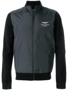 куртка со стегаными панелями Hackett