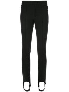 эластичные брюки скинни  Moncler Grenoble
