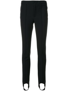брюки скинни с манжетами  Moncler Grenoble