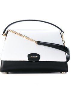 двухцветная мини сумка Lanvin
