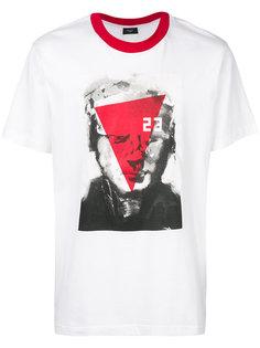 футболка с абстрактными принтом Not Guilty Homme