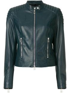 приталенная байкерская куртка  Belstaff