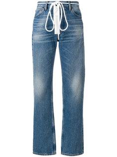 джинсы на шнурке Off-White