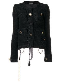 куртка с цепочкой  Erika Cavallini