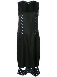 трикотажное платье с вышивкой  Maison Margiela