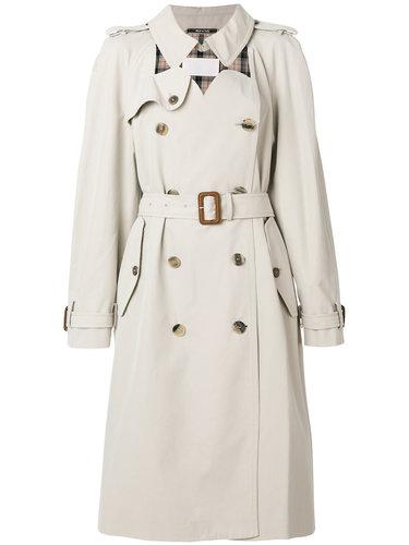 строгое пальто-тренч  Maison Margiela