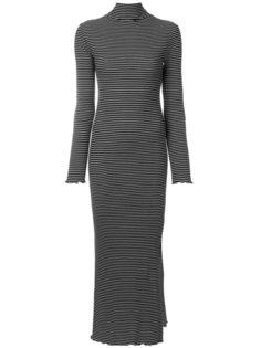 платье из джерси в полоску Nanushka