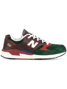 кроссовки с заплаткой с логотипом New Balance