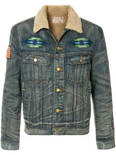 джинсовая куртка с вышивкой Polo Ralph Lauren