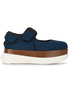 туфли на платформе Marni