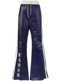 спортивные брюки с завышенной талией Off-White