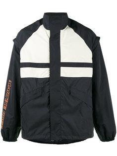 спортивная куртка со съемными рукавами Martine Rose